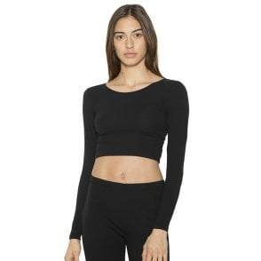 67b8d5acced American Apparel Cotton Spandex jersey crop tee (RSA8380) AA041 ...