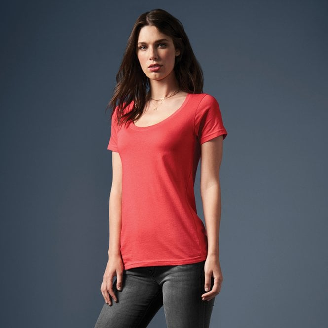 Anvil Women's Sheer Scoop Tee
