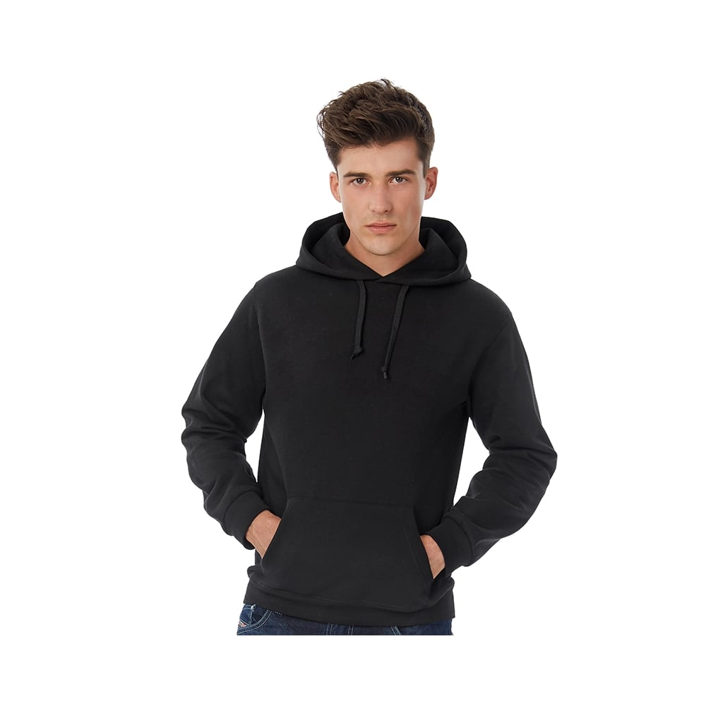 B/&C Collection ID.203 50//50 Outwear Kangaroo Pocket Hooded Sweatshirt 4XL-XS