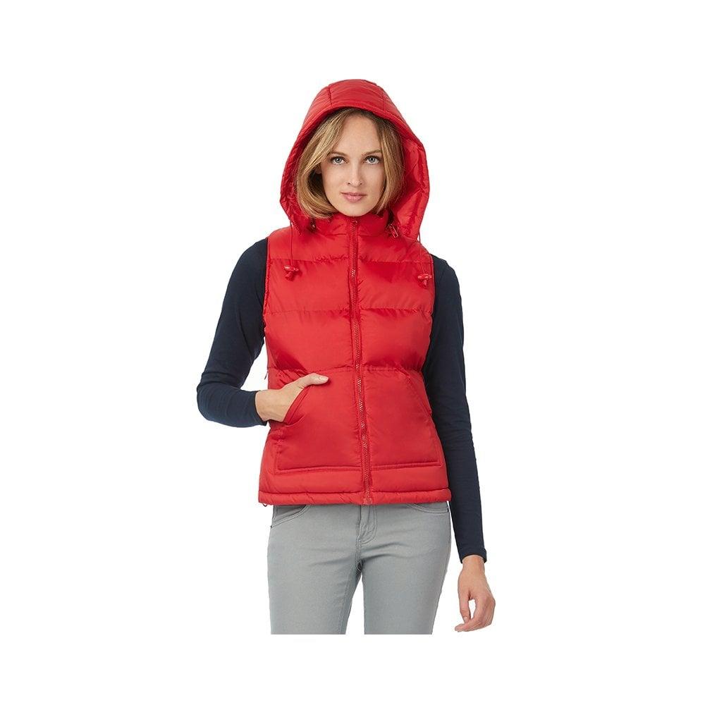 New B/&C Zen Trendy Down Gilet Waterproof Padded Ladies Bodywarmer Jacket