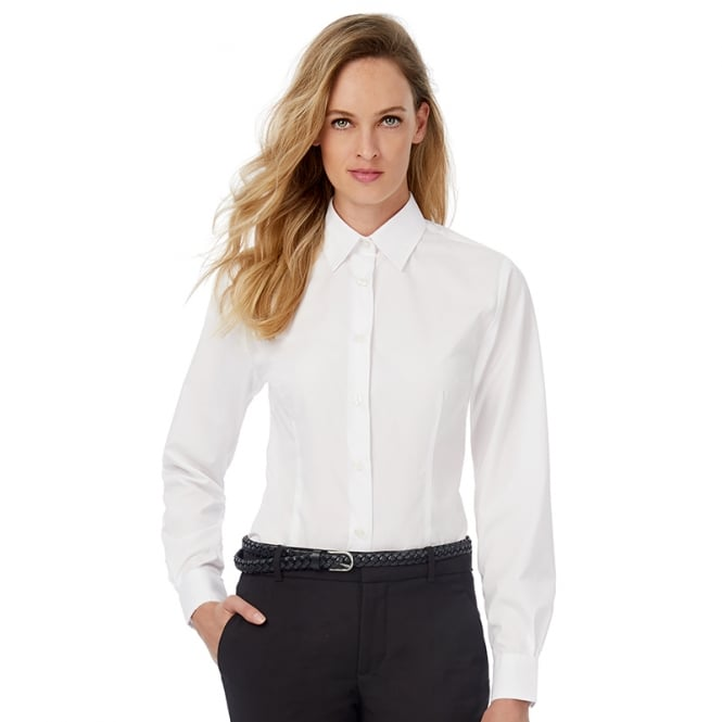 B & C Collection  Smart Long Sleeve Womens