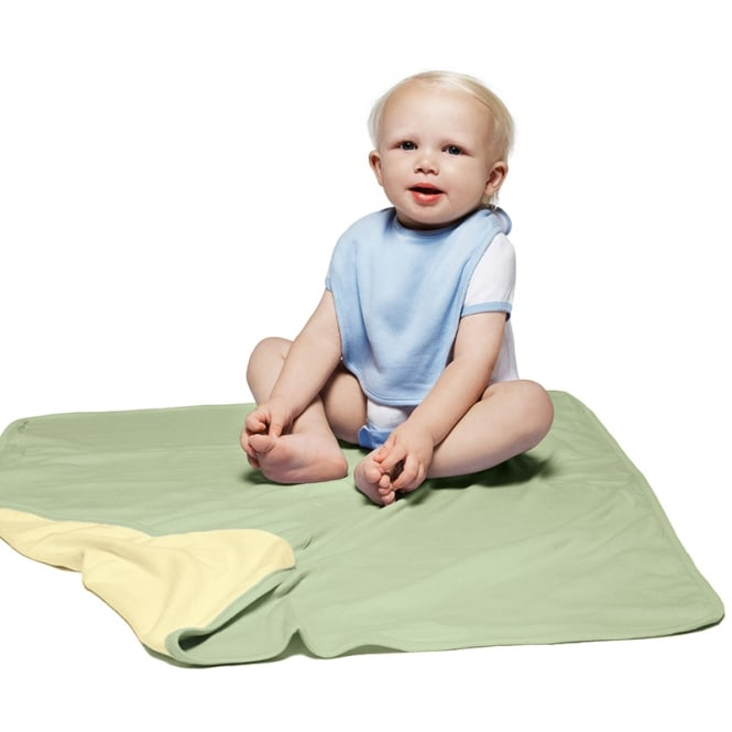Bella + Canvas Baby Rib Revesible Blanket