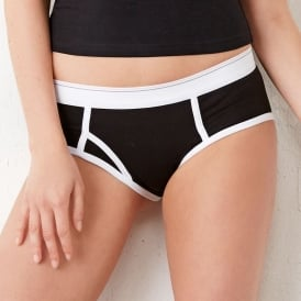 Logan Cotton Spandex Boyfriend Brief