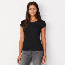 Bella Canvas Women's Burn-out T-Shirt