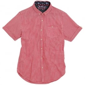 Clement - S/S fine checkered shirt
