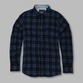 Duffey - long sleeve check shirt