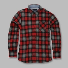Garvey - long sleeve check shirt