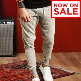 Keith - hemmed and panelled joggers