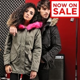 Panther - women's parka with fur