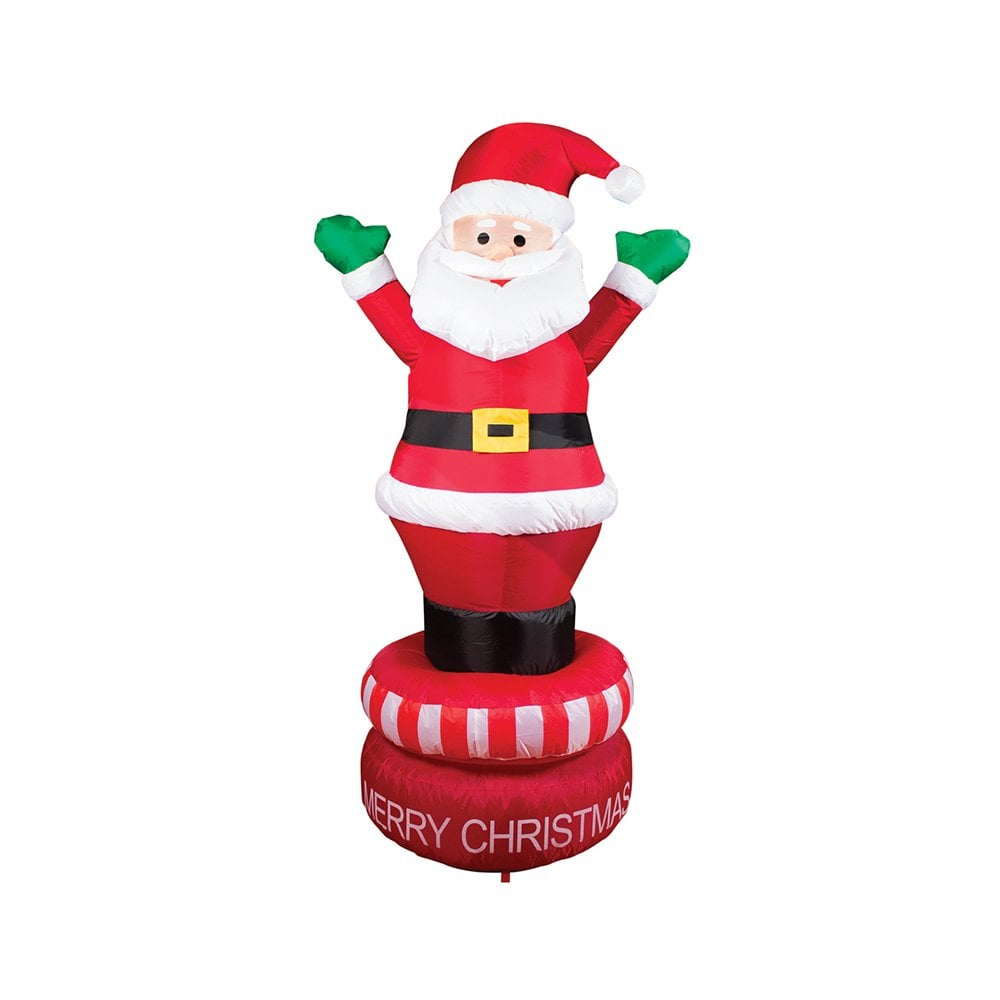 1.8m inflatable rotating Santa | Buytshirtsonline