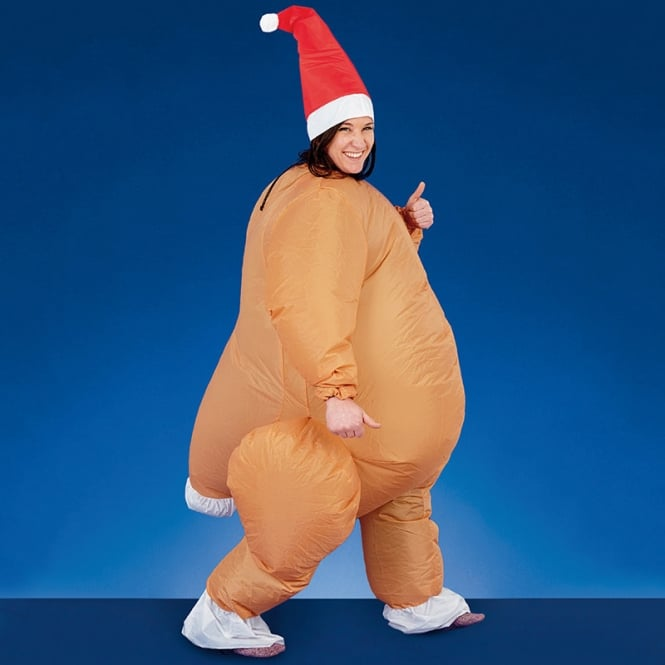 Christmas Shop Adult inflatable suit