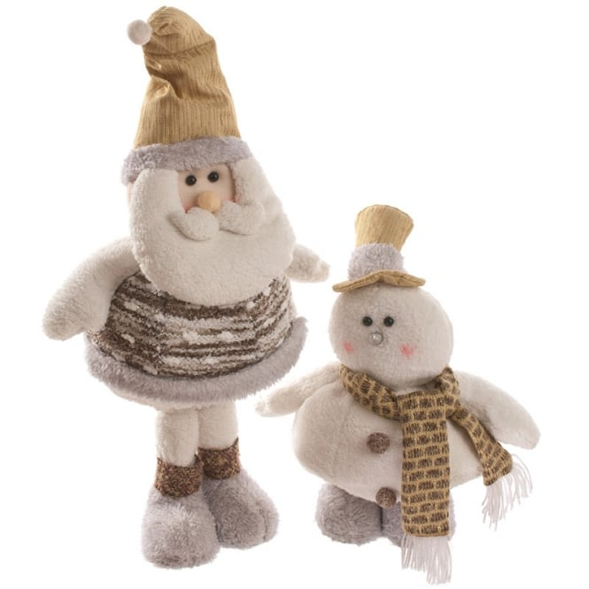 Christmas Shop Fat Santa & snowman
