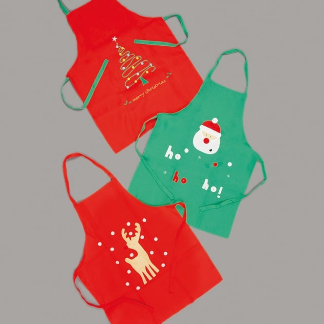 Christmas Shop Kids Christmas apron