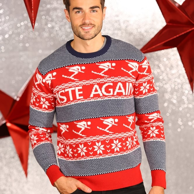 Christmas Shop Piste Again knitted jumper