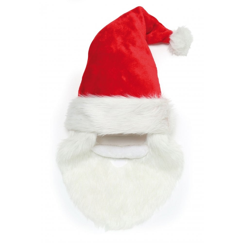 Santa hat with beard and moustache  7e8862cad0d