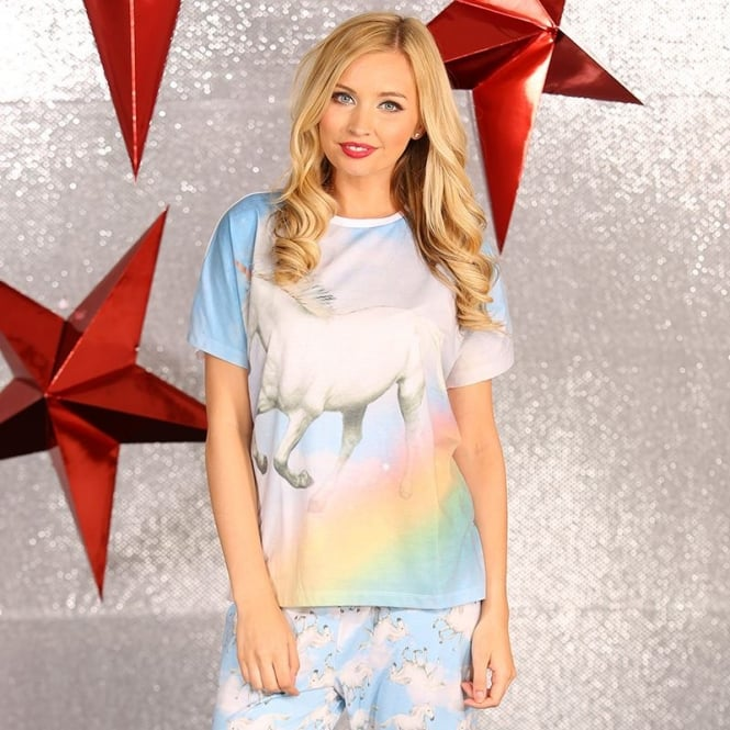 Christmas Shop Unicorn pyjamas