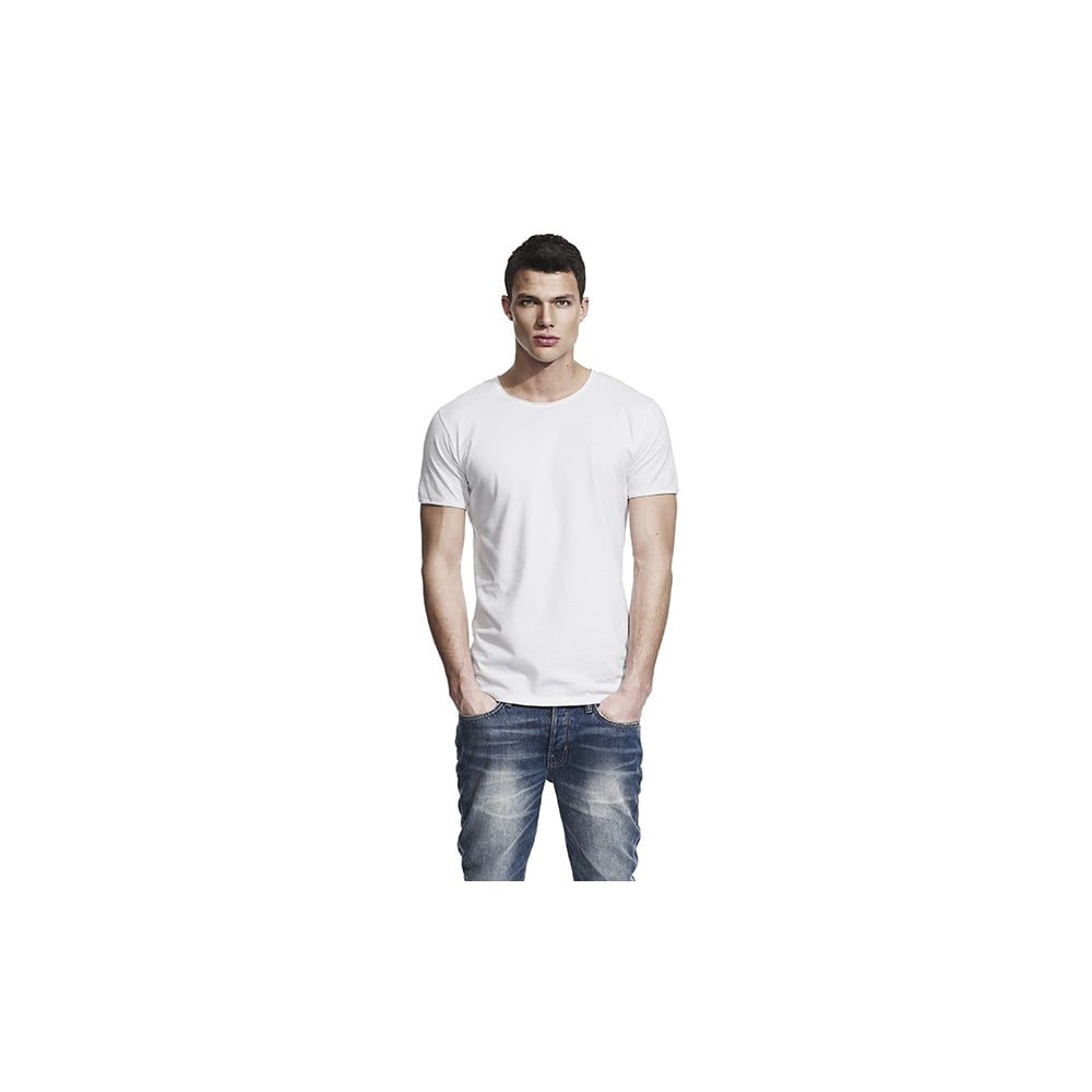 fb2c9e406 MEN S RAW EDGE JERSEY T-SHIRT