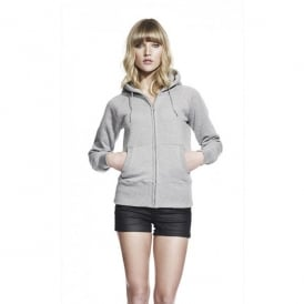 Women's Zip-Through Hooded Sweatshirt