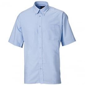 Short Sleeve Cotton/Polyester Oxford Shirt