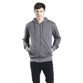 Men's Organic Fashion Zip Up Hoody - Climate Neutral
