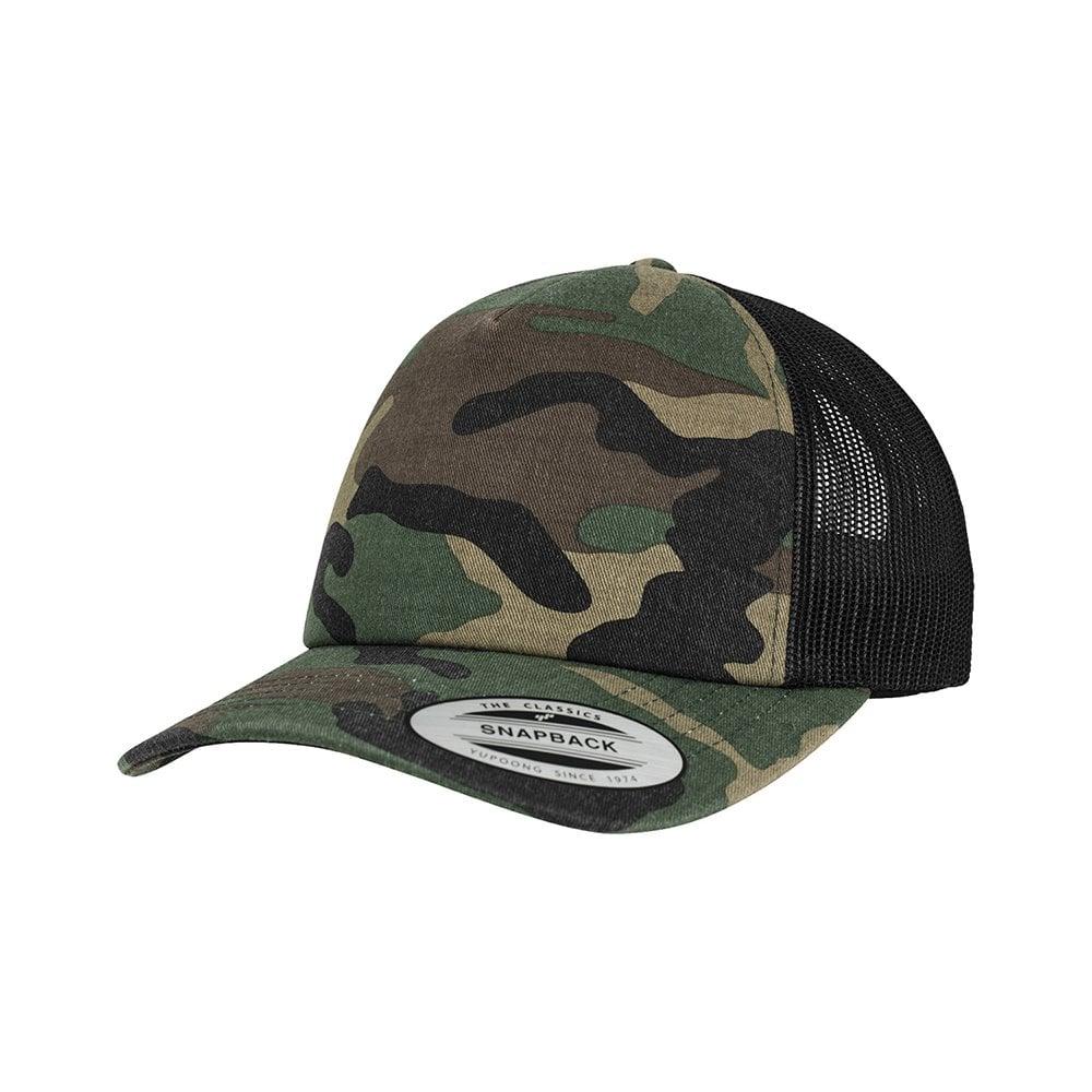 Camo trucker cap (6606C)  18c23980e14