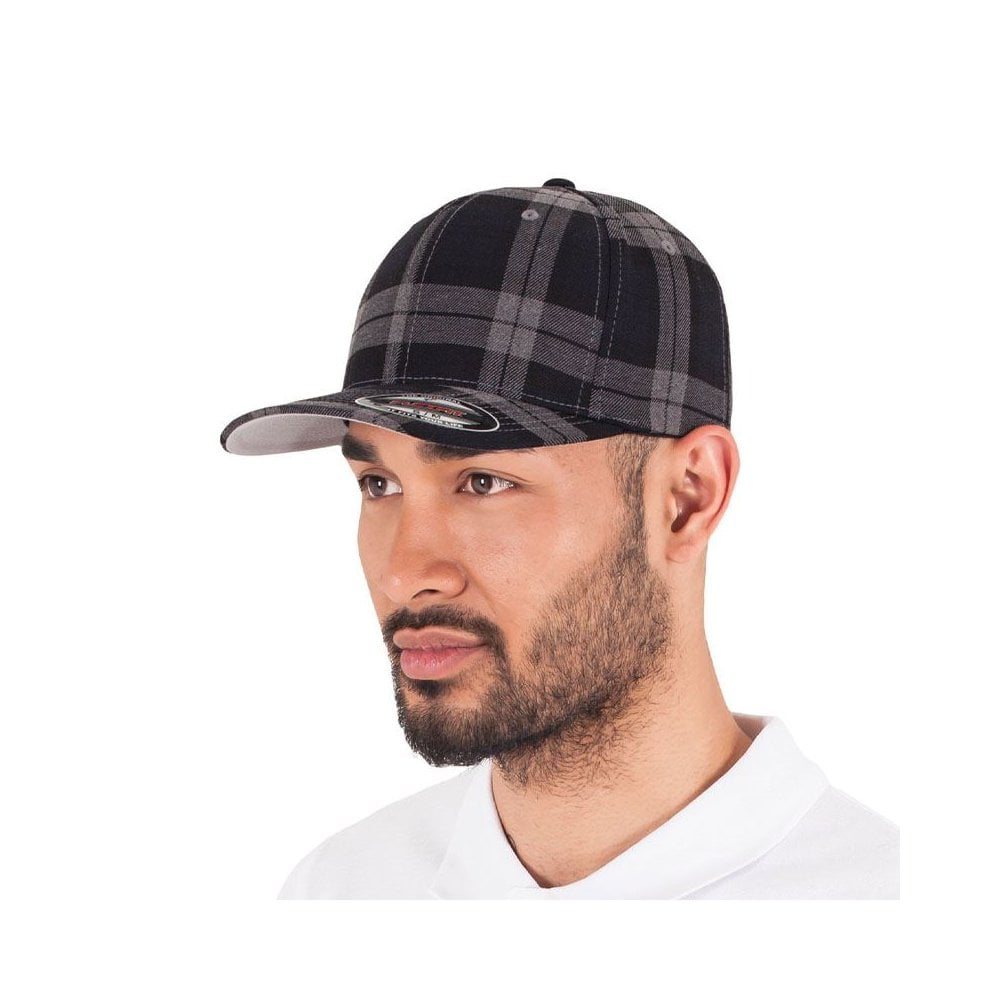 6197 Tartan Plaid Cap Flexfit