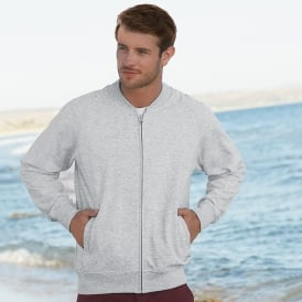 Lightweight baseball sweatshirt jacket