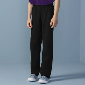 Childrens Heavy Open Sweatpant
