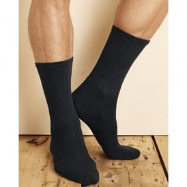 Gildan Platinum™ Crew Men's Socks (Black)