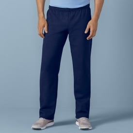 Gildan Mens Heavy Open Bottom Sweatpant