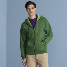 Gildan Mens Vintage Full Zip Hood Sweat