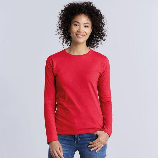 Gildan Softstyle Womens Long Sleeve T-Shirt