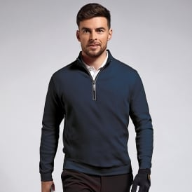 g.Artemis zip neck long sleeve fleece