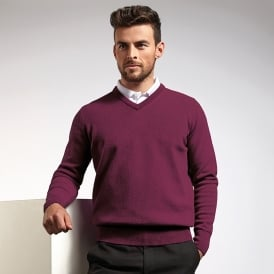 g.Lomond lambswool v-neck sweater