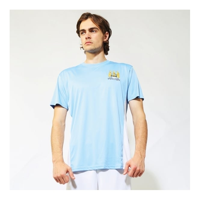 Official Football Merchandise Manchester City Adults Performance T-shirt