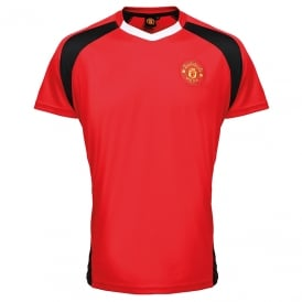 Manchester United FC Adults Performance T-shirt