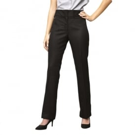 Workwear Ladies Flat Front Hospitality Trouser