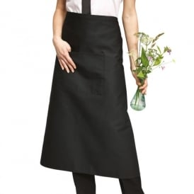 Workwear Long Bar Apron With Pocket