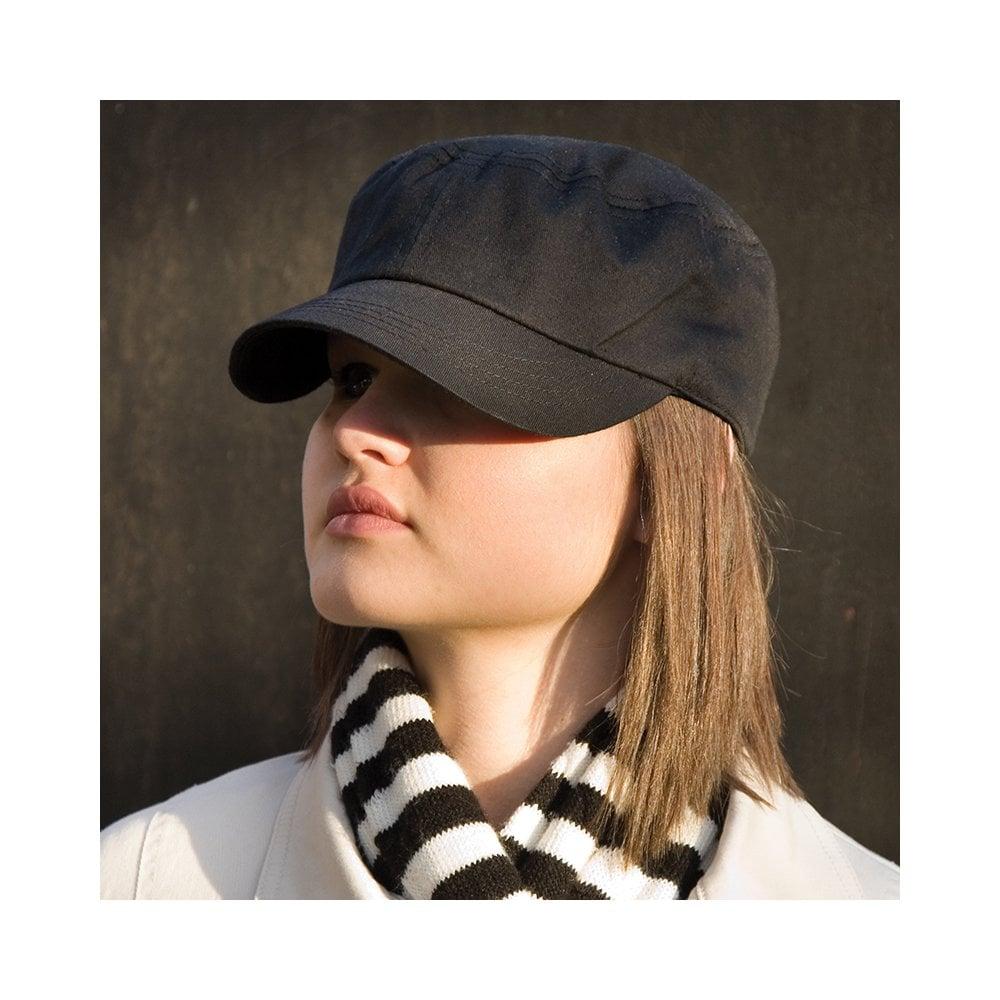 Result Urban Trooper Lightweight Cap Headwear Youth Peak Short Pre-curved One