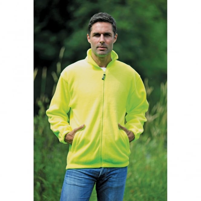 RTY Enhance Visibility Enhanced visibility full zip fleece