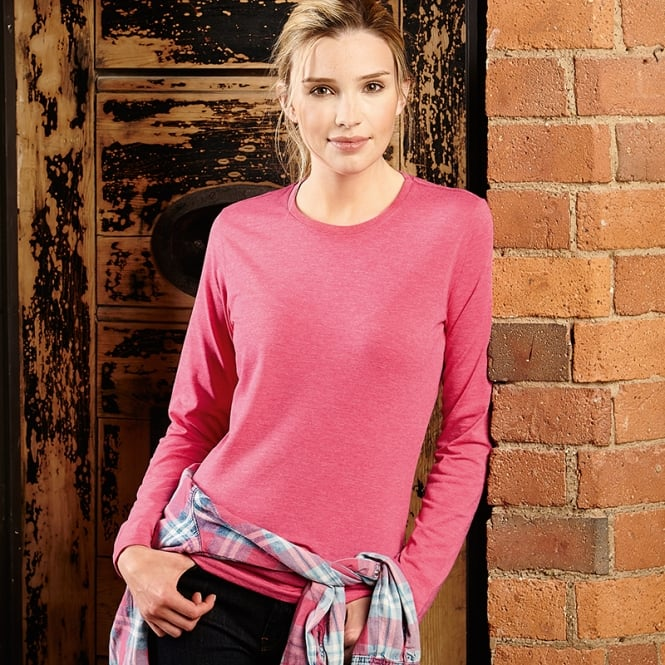 Russell Collection Women's long sleeve HD T