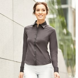 Women's long sleeve shirt stretch top