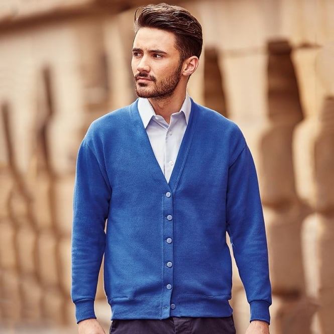 Russell Europe Fleece cardigan