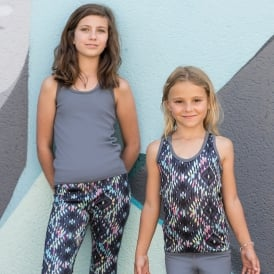 Kids reversible workout vest