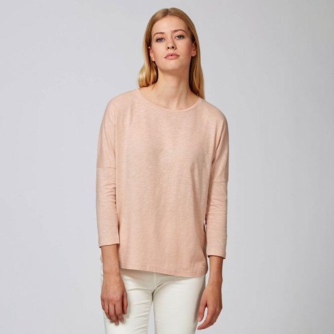 86920102 Women's Stella Turns slub long sleeve drop sleeve slub t-shirt