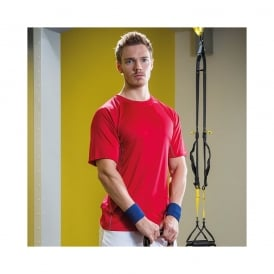 Performance wicking sports tee