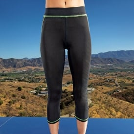 Women's Capri TriDri® fitness leggings
